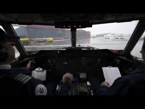 Airgreenland Dash-7 - Crosswind Landing - Nuuk