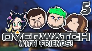 ►Overwatch w/ JackSepticEye, Egoraptor, Barry, and ReixInari ► PART 5 - Kitty Kat Gaming