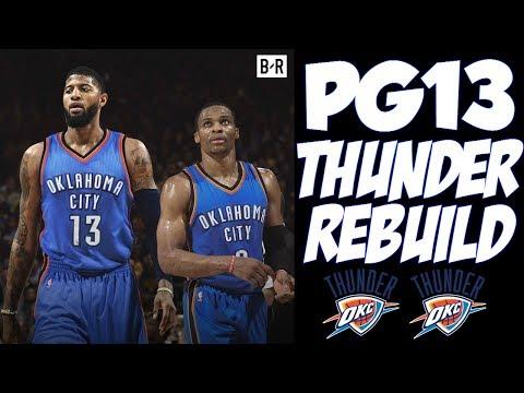 NEW SUPERTEAM IN OKC!! PAUL GEORGE THUNDER REBUILD!! NBA 2K17