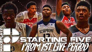 Zion williamson, bol bol & our starting five from first live period!