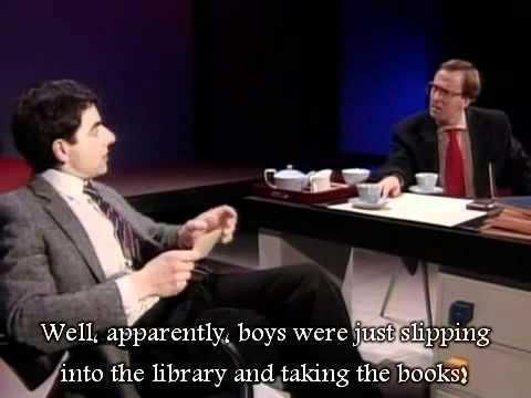Rowan Atkinson Live - Fatal beatings [English Subtitles]