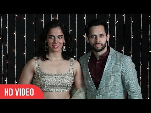 Newly Married Saina Nehwal's FIRST Appearance With Husband Parupali Kashyap @Priyanka-Nick Reception