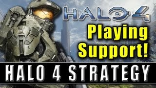 Halo 4 Tips - Ragnarok BTB - Support Playstyle - Gameplay and Commentary
