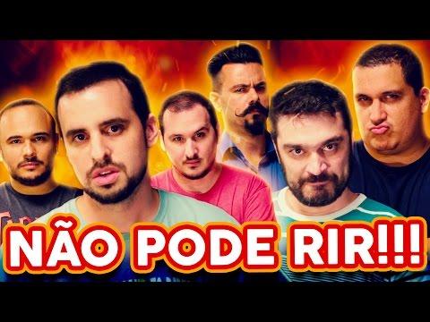 NÃO PODE RIR! - com Gaveta, Affonso Solano e Diogo Braga
