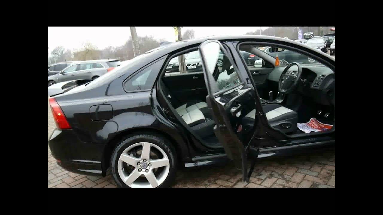2009 Volvo S40 R-Design 1.6d DRIVe Black For Sale In Hampshire - YouTube