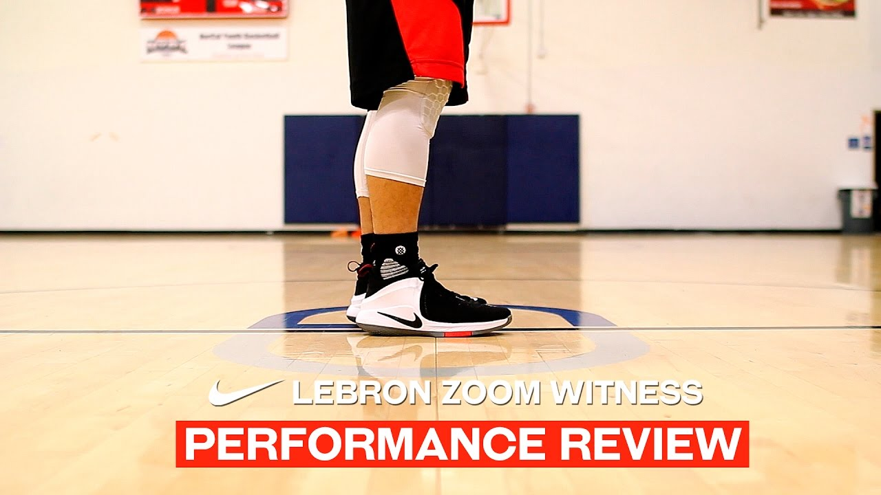 eb98011bfdf Nike LeBron Zoom Witness - Performance Review - YouTube