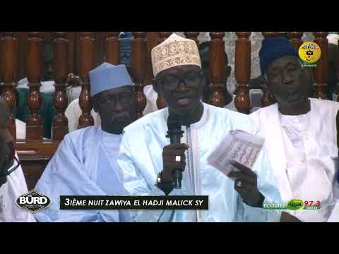 3iéme Burd 2019 - Communication De Serigne Moustapha SY Maodo