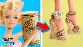 10 AWESOME DIY HACKS TO MAKE BARBIE ACCESSORIES