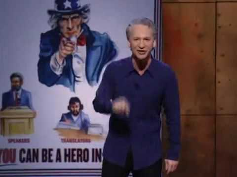 Bill Maher on the Superiority of Western Values
