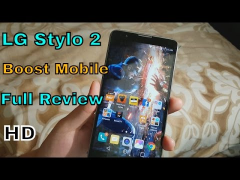 LG Stylo 2 Full Review Boost Mobile (HD)