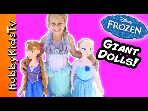 sc 1 st  YouTube & FROZEN Surprise Tent and Huge Princesses - YouTube