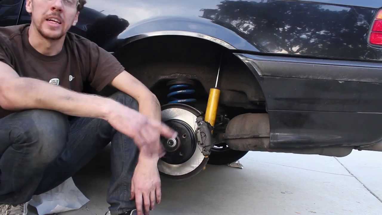 Replacing The Rear Brake Pads On A 1998 Bmw 328is E36