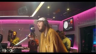 Post Malone on White Iverson & his style of braids & gold grills - Westwood