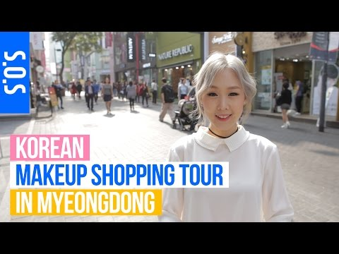 SOS: Korean Makeup Shopping Tour ♥ Best Sellers, Tips & Interviews! 미즈뮤즈와 함께하는 명동 화장품 쇼핑 | MEEJMUSE