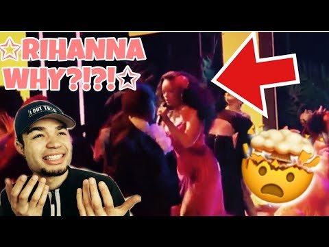 "RIHANNA Performs ""Wild Thought"" At 2018 Grammy Award"