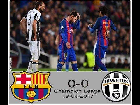 Hasil Liga Champion Barcelona Vs Juventus    Highligt Goal