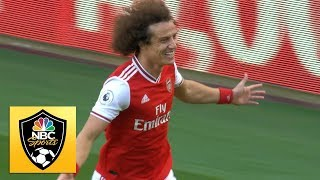 David Luiz heads Arsenal in front against Bournemouth | Premier League | NBC Sports