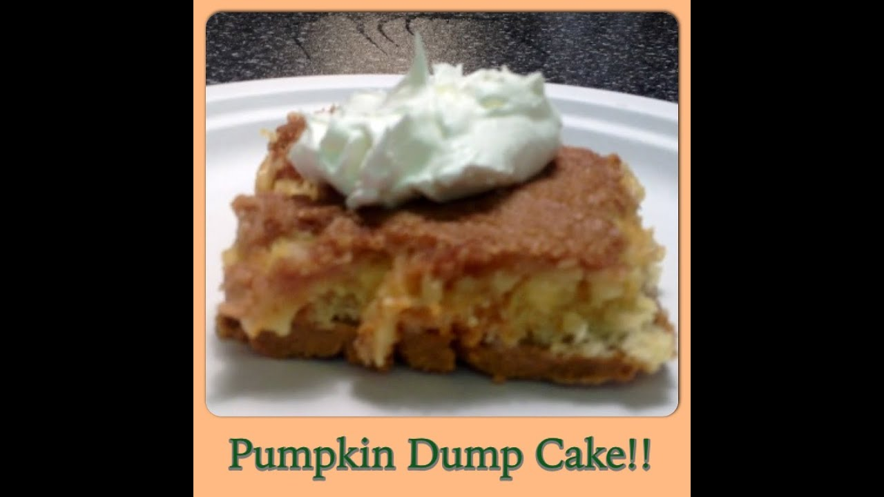 Weight Watchers Pumpkin Dump Cake Recipe