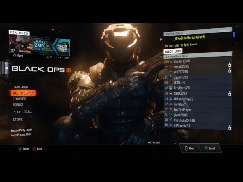 BLACK OPS 3 | RAIDING STREAMS!! LIVE | GROW CHANELS |SUB4SUB | SOCIAL MEDIA IN DESCRIPTION