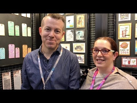 Tim Holtz at Stampers Anonymous - Creativation 2018