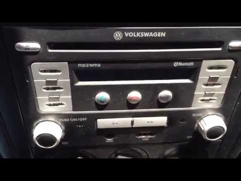 Bypass Safe Code VW Stereo