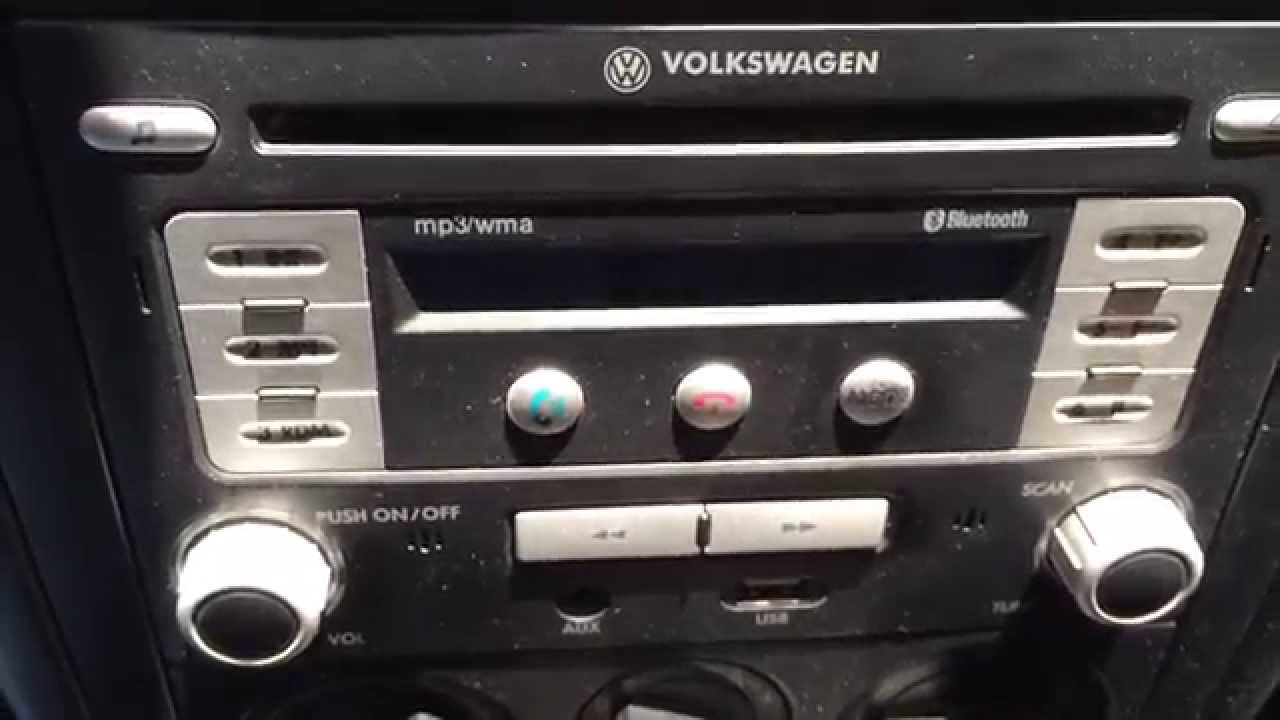 bypass safe code vw stereo youtube. Black Bedroom Furniture Sets. Home Design Ideas