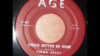 Ricky Allen - You