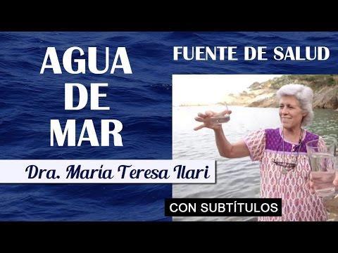 LOS BENEFICIOS DEL AGUA DE MAR - Dra. María Teresa Ilari