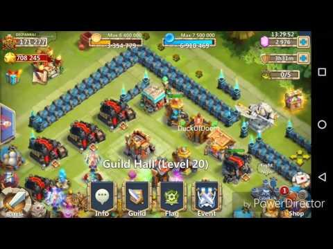 Castle Clash Boss 5 ( Boss Challenge 2 ) Max Reward Strategy