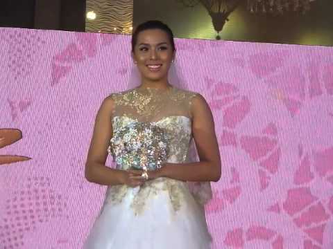 Nikki Gil At The Veluz Bridal Wear Fashion Show Youtube