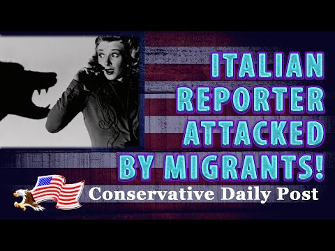 Italian Reporter Attacked By Migrants on Live Television!