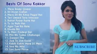 Best of Sonu kakkar non stop Hindi song Bollywood hit romantic song