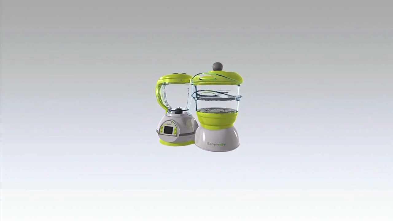 nutribaby le premier robot qui fait de la vraie cuisine pour b b youtube. Black Bedroom Furniture Sets. Home Design Ideas