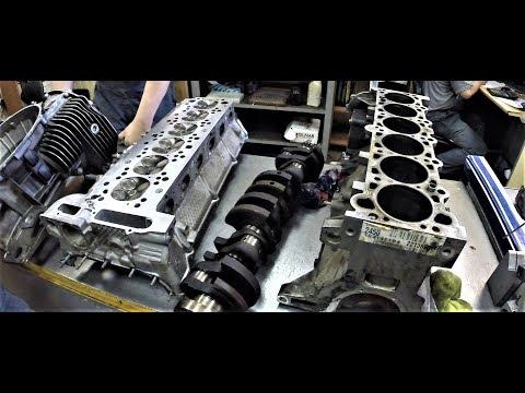 Мотор BMW M52 ( Никасил ) Часть 2