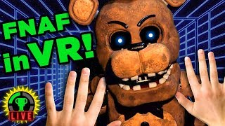 FNAF in Your FACE Challenge Ft. Rosanna Pansino (Nerdy Nummies) | Game Theory Charity Livestream