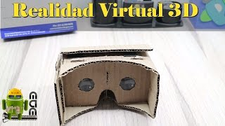 Como Hacer Unas Gafas 3D VR para tu telefono muy facil
