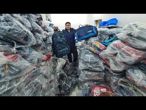 Bag Wholesale Market Nabi Karim, Pahar Ganj, Delhi | Sling bags, Waist pouch, Travel bags | VANSHMJ