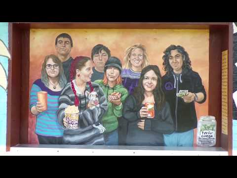 Concession Stand Mural at Firemen's Angell Park, SunPrairie