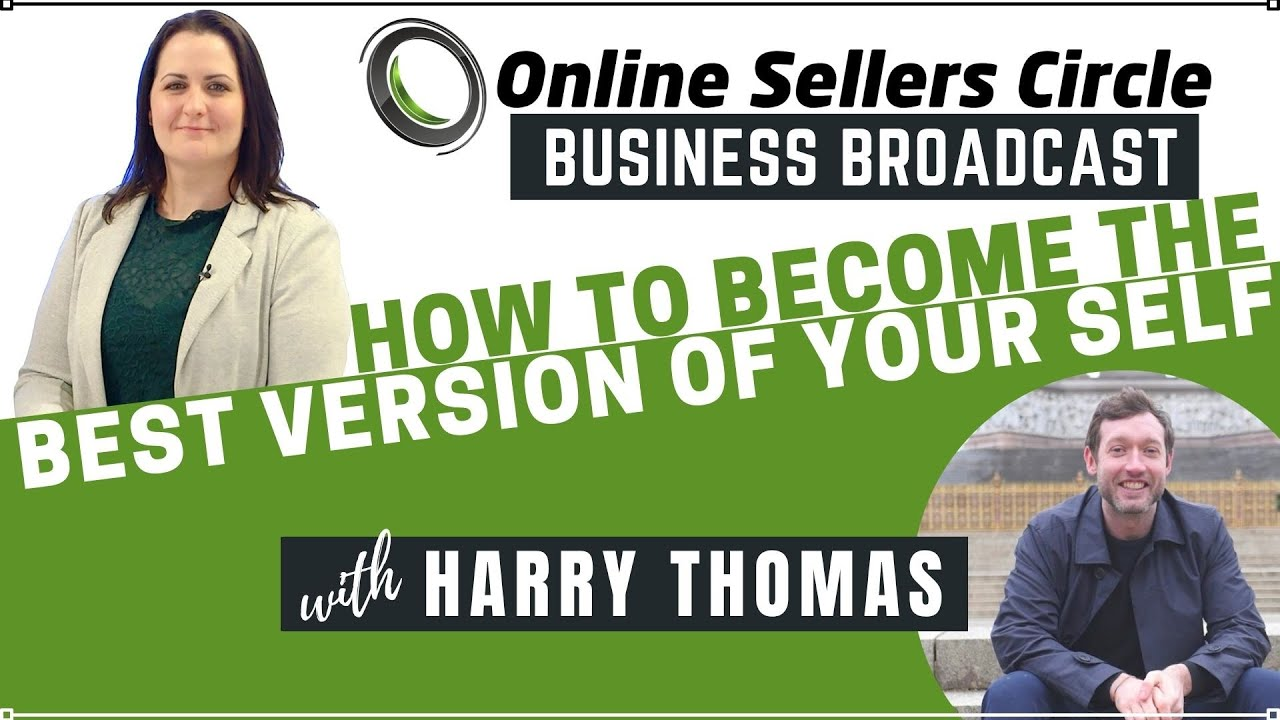 Business Broadcasts Interview: Be Your Best Self - With Life Coach Harry Thomas
