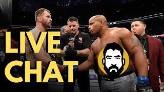 Live Chat: UFC 241, UFC Uruguay, Joshua-Ruiz Rematch | Luke Thomas