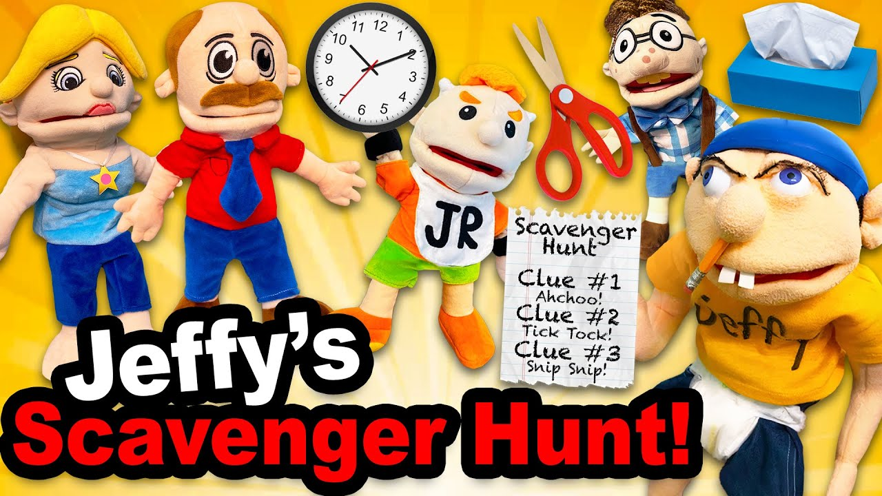 SML Movie: Jeffy's Scavenger Hunt!