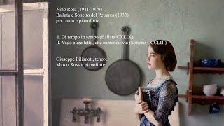 Nino Rota - Ballata e Sonetto del Petrarca (1933)