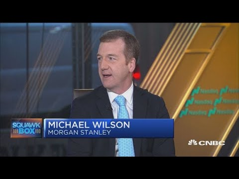 Morgan Stanley's Wilson says there is a risk of an earnings recession