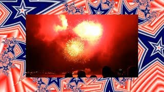 Fireworks And Fractals - Star Spangled Banner Guitar Solo By Dale A Clark
