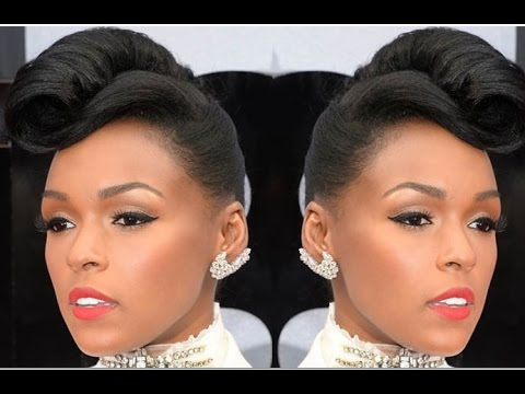 French Roll Hairstyle For Black Women