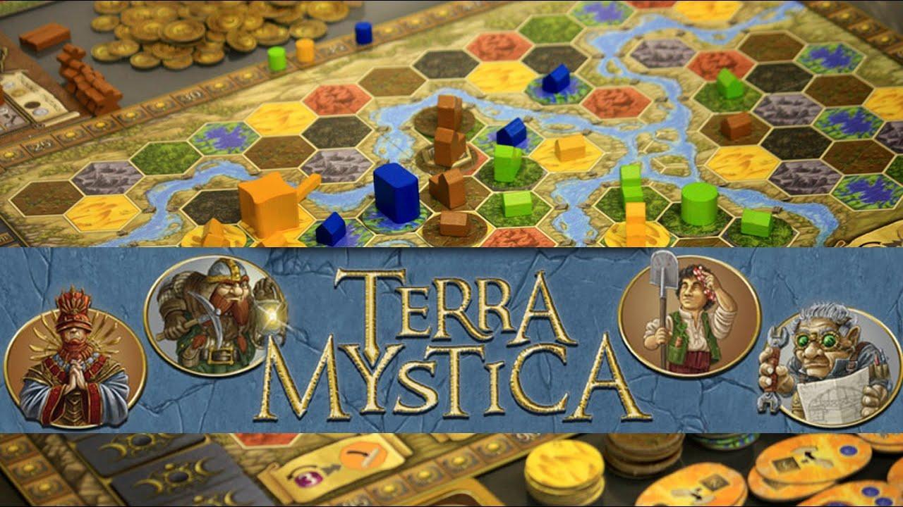 Terra Mystica Bard Centrum Gier
