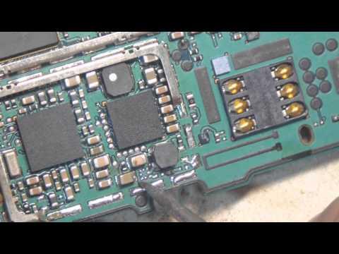 Nokia 3110 восстановление подсветки.