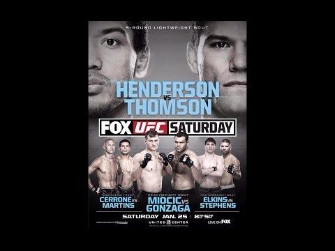 UFC on FOX 10 | Ben Henderson vs Josh Thomson | MMANUTS