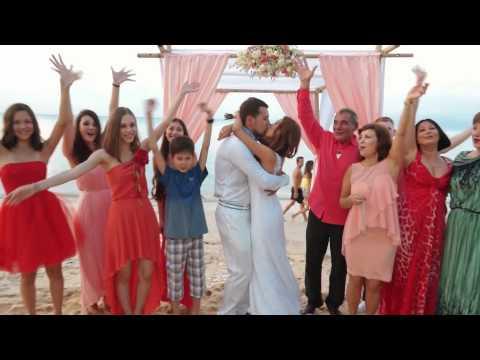 Свадьба в Таиланде: Карина и Влад (Самуи) 11.01.2015