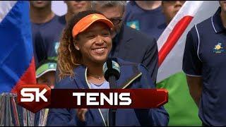 TENIS | Simpatična Naomi Osaka Govorom Razveselila Publiku u Indijan Velsu | Sport Klub